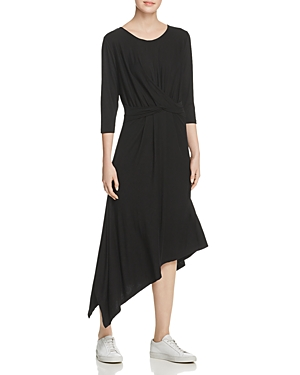 B Collection By Bobeau Dresses B COLLECTION BY BOBEAU CLARA TWIST-FRONT ASYMMETRIC DRESS