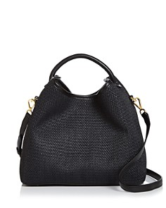 Elleme - Raisin Raffia Satchel