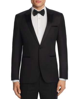 Astiane Slim Fit Tuxedo Jacket by Hugo
