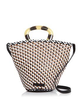 Loeffler Randall - Agnes Woven Leather Bucket Bag