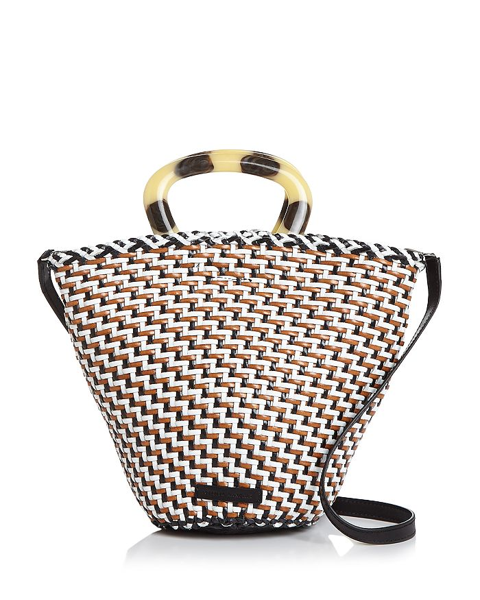 Loeffler Randall - Agnes Woven Leather Bucket Bag