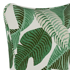 "Sparrow & Wren - Banana Palm Natural Down Pillow, 20"" x 20"""