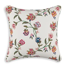 "Sparrow & Wren - Chintz Floral Multi Down Pillow, 20"" x 20"""
