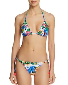 Nanette Lepore - Technicolor Tropical Vixen Bikini Top & Technicolor Tropical Vamp Bikini Bottom