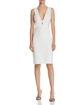 Laundry by Shelli Segal - Plunging Cocktail Dress