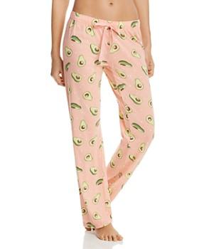 ce2502858a7 PJ Salvage - Avocado-Print Pajama Pants ...