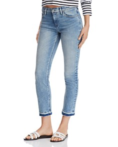 Hudson - Nico Back-Slit Jeans in Breakthrough