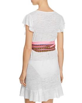 Pitusa - Wrap Llama Dress Swim Cover-Up