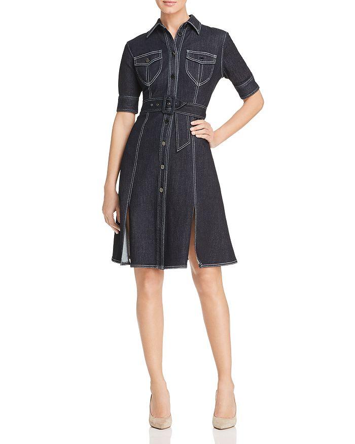 6632c88be53bc Elie Tahari Aurora Denim Shirt Dress | Bloomingdale's