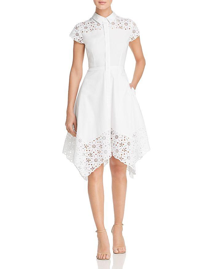 ca24bf7462394 Elie Tahari Jane Laser-Cut Shirt Dress | Bloomingdale's