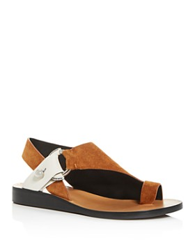 rag & bone - Women's Arc Slingback Demi-Wedge Sandals