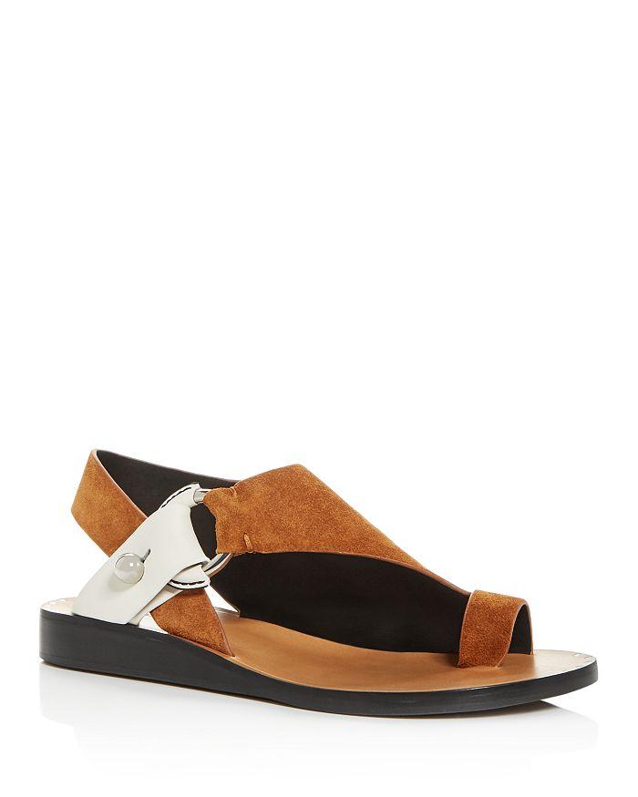 rag & bone - Women's Arc Slingback Demi-Wedge Sandals