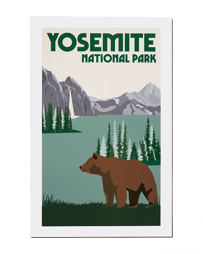 Parks Project - Yosemite National Park Poster