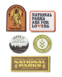 Parks Project - Parks Advocate Stickers, Pack of 5
