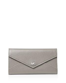MICHAEL Michael Kors - Money Pieces Large Trifold Leather Wallet