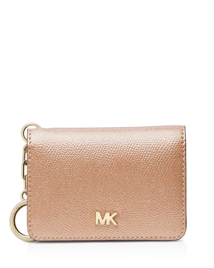 7ae87888b675 MICHAEL Michael Kors Money Pieces Card Case with Key Ring ...