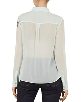 Ted Baker - Zaylaa Magnificent-Print Blouse
