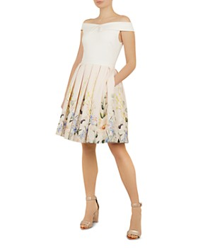 d235457f6a92 Ted Baker - Oceanne Elegant-Print Dress ...
