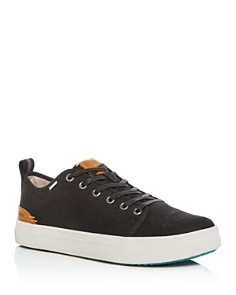 TOMS - Men's TRVL LITE Canvas Low-Top Sneakers