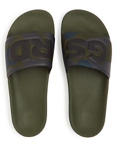 G-STAR RAW - Men's Cart Camo Slide Sandals