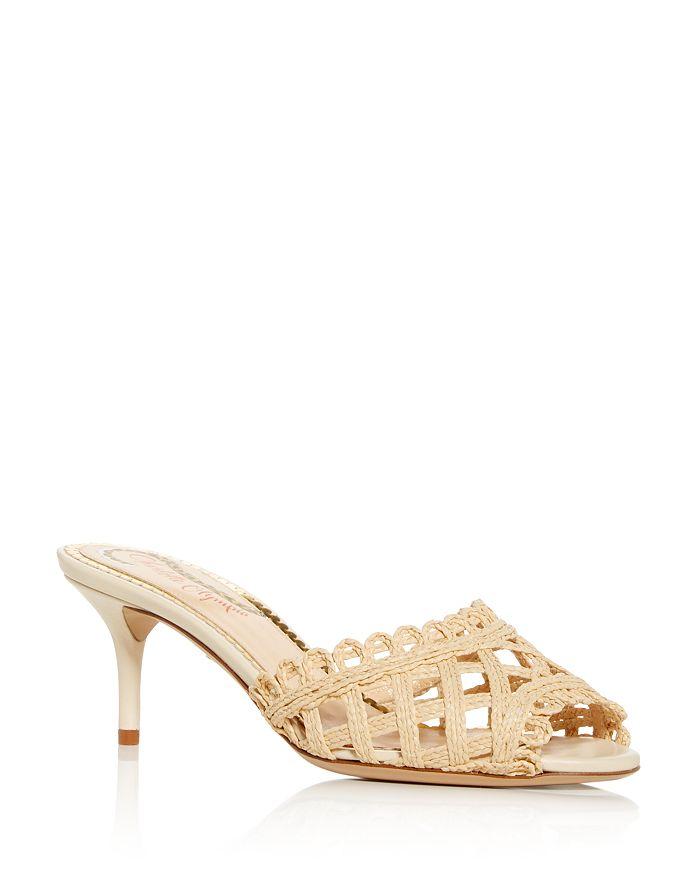 Charlotte Olympia - Women's Lola Woven High-Heel Sandals