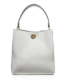 COACH - Charlie Leather Bucket Bag