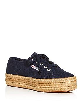 Superga - Women's Cotropew Low-Top Platform Sneakers