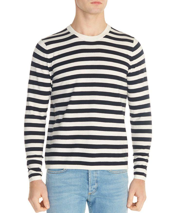 Sandro - France Striped Crewneck Sweater