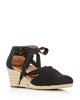 Vionic - Women's Kaitlin Ankle-Tie Wedge Espadrille Sandals