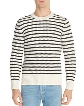 Sandro - Sailor Striped Crewneck Sweater
