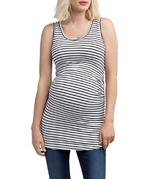 Nom Maternity - Joey Scoop-Neck Maternity Tank