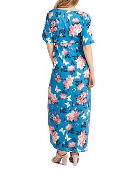 2921baba14 ... Nom Maternity - Landon Floral-Print Maxi Nursing Dress