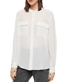 ffce07df2ee328 Cocktail White Blouse - Bloomingdale s