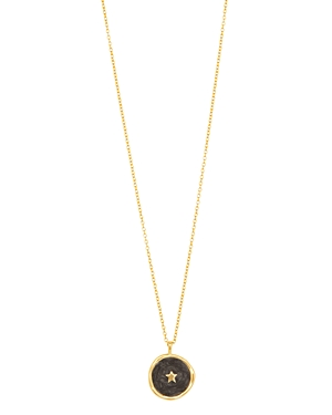 Gorjana Accessories STAR COIN PENDANT NECKLACE, 18.5