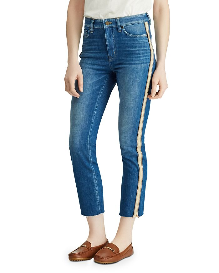 Ralph Lauren - Regal Straight Ankle Jeans in Eden Wash