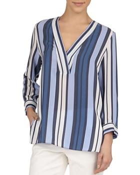 d1da1b0c09fca3 Gerard Darel - Emily Striped Silk Shirt ...