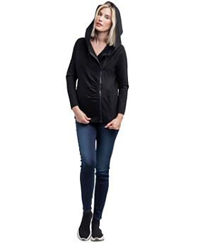 Nom Maternity - Rainier Fleece Lined Zip Hoodie
