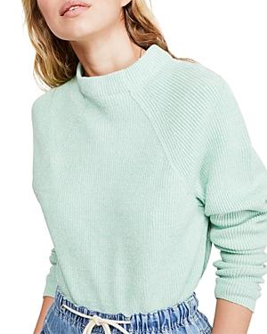 Free People Sweaters TOO GOOD MOCK-NECK SWEATER