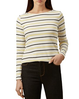 HOBBS LONDON - Constance Striped Top