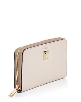 Furla - Mimi Slim Leather Zip Wallet
