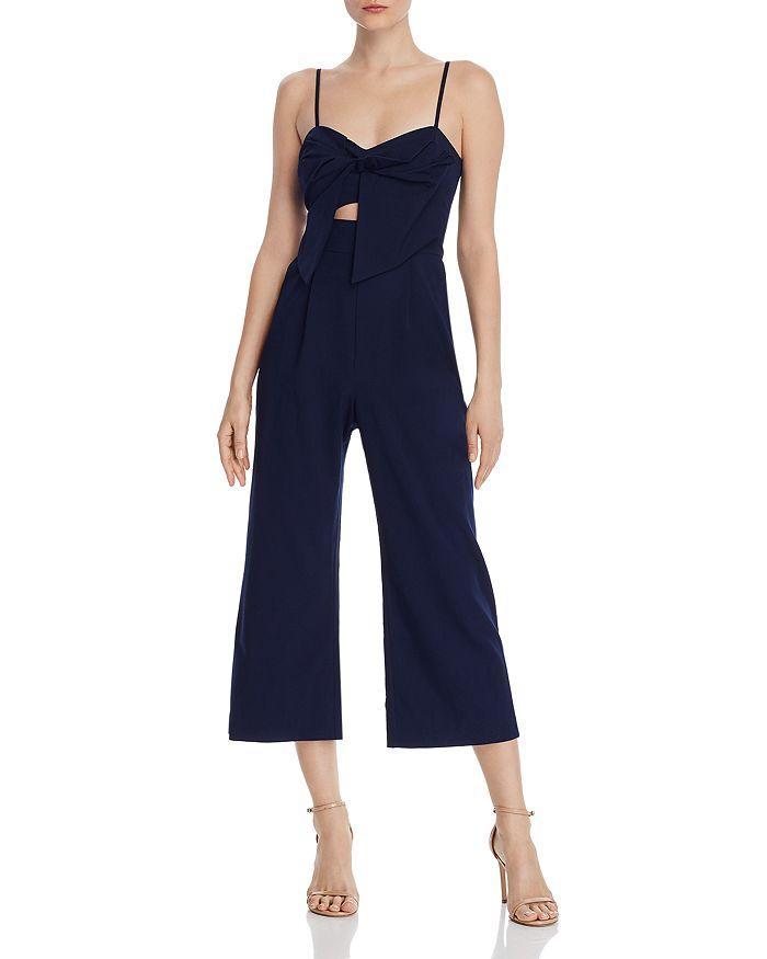 Bardot - Lena Crop Wide-Leg Jumpsuit