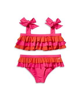 Scotch R'Belle - Girls' Ruffle Two-Piece Swimsuit - Little Kid, Big Kid