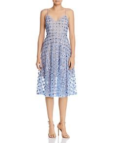 Aidan Mattox - Embellished Lace Dress