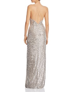 Aidan by Aidan Mattox - Sequined Column Gown