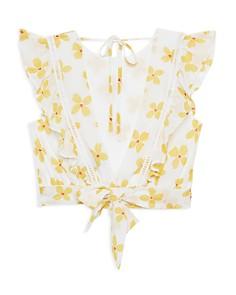 Bardot Junior - Girls' Havana Floral Print Flutter Top - Big Kid