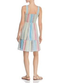 9df5f9fafb1 ... AQUA - Smocked Rainbow-Stripe Dress - 100% Exclusive