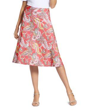 BASLER | Basler Paisley-Print Skirt | Goxip