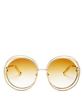 fc8110b165 Chloé - Women s Carlina Oversized Round Sunglasses