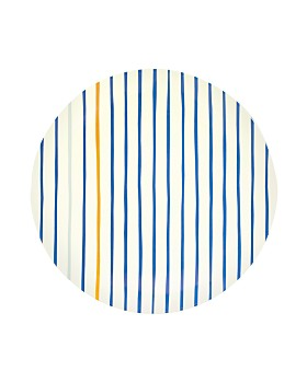 kate spade new york - Citrus Twist Stripe Dinner Plate