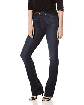 PAIGE - Manhattan Bootcut High-Rise Jeans in Gardena